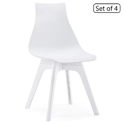 Amazoncom Yimiga Mid Century Modern Dining Chair Set Of 4