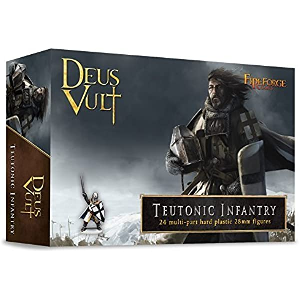 Templar Infantry by FIREFORGE GAMES Deus Vult