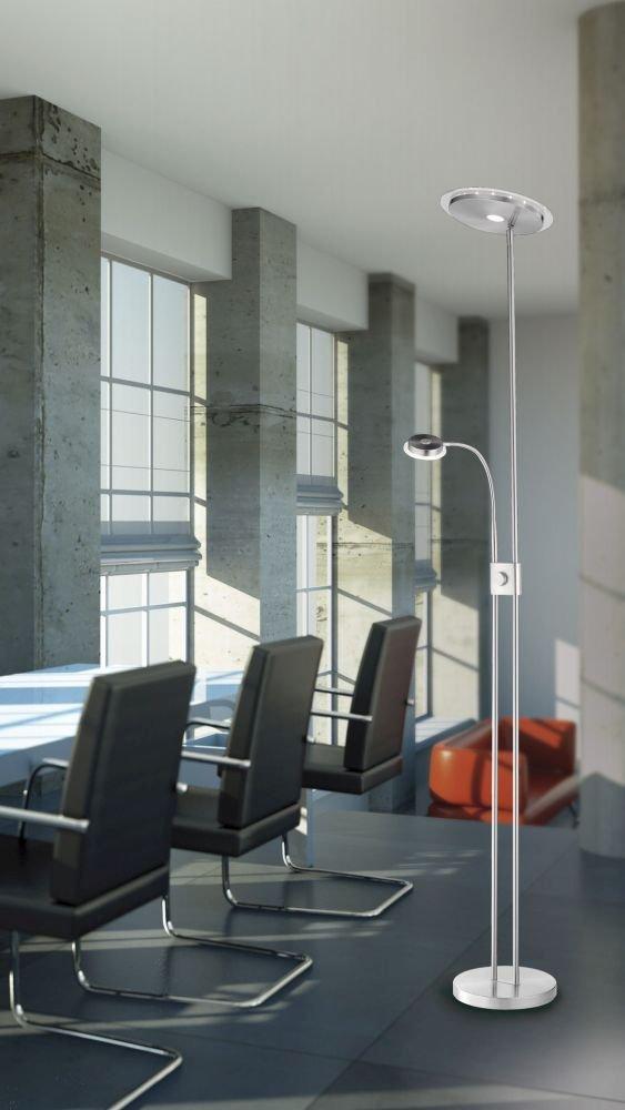 LED-Deckenfluter dimmbar flexible Leselampe LED-Fluter 1700 Lumen 3000 Kelvin warmwei/ß