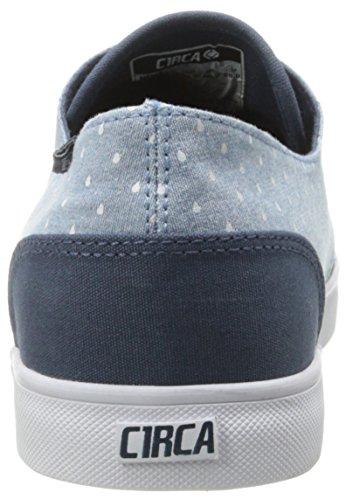 Mood 13 C1RCA Chambray Indigo Sneaker Lopez Men's Raindrop fq6IOg