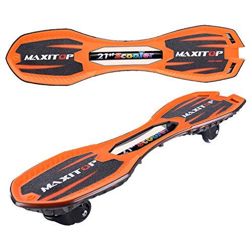 正規 ZX Orange 子供 スクーター 男の子 2ラウンド 光る アダルト 若者 スイングカー 2ラウンド Orange 活力板 スケートボード (色 : Red) B07H29XKKN Orange Orange, タクマチョウ:216477cd --- a0267596.xsph.ru