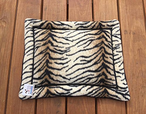 Bed for Cats Kennel Liner Carrier Pad Small Dog Crate Mat Size 20x16 Washable Easy Care Handmade