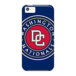 High-end Cases Covers Protector For Iphone 5c(washington Nationals)