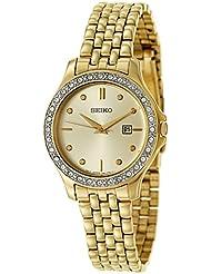 Seiko Dress Womens Quartz Watch SXDF92