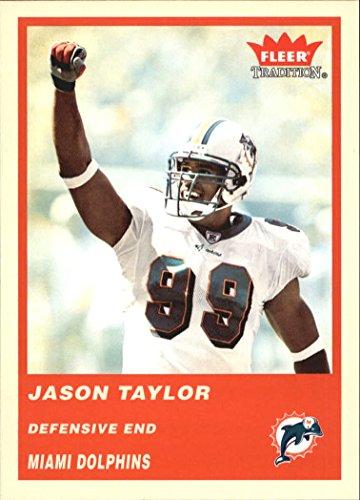 2004 Fleer Tradition #208 Jason Taylor NFL Football Trading Card from Fleer Tradition
