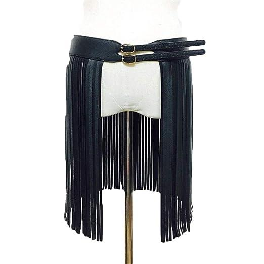 Arnés de Cuero Cinturones de Cuerpo Mujeres PU Cuero Ajustable ...
