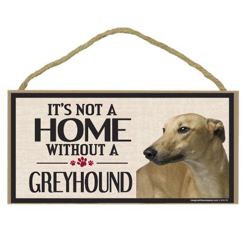 Imagine This Wood Sign for Greyhound Dog (Greyhound Costumes)