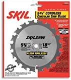Skil 73518 5-3/8-Inch 18 Tooth ATB Saw Blade with 10mm Arbor