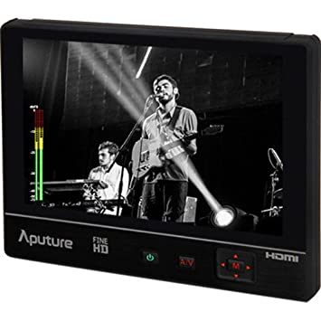 Aputure VS-1 de 7 HD Campo Monitor LCD de Fina - Negro ...