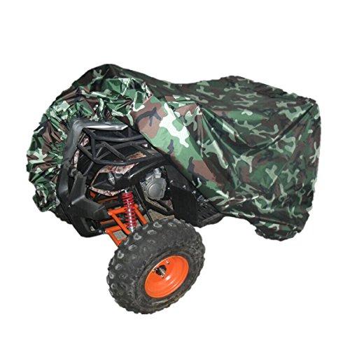Quad Tractor (Quad Tractor ATV Cover Anti-UV Waterproof Heatproof Camouflage XL)