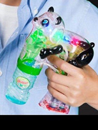 Light Up Flashing Panda Bubble Gun - Tons of fun for that next big party!