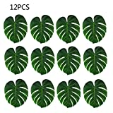 Loweryeah Artificial Tropical Leaves Monstera Leaf for Table Decorations Party Decorations