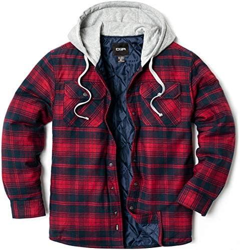 メンズ 長袖 フランネル素材 シャツジャケット スエード/シェルパ/キルティング