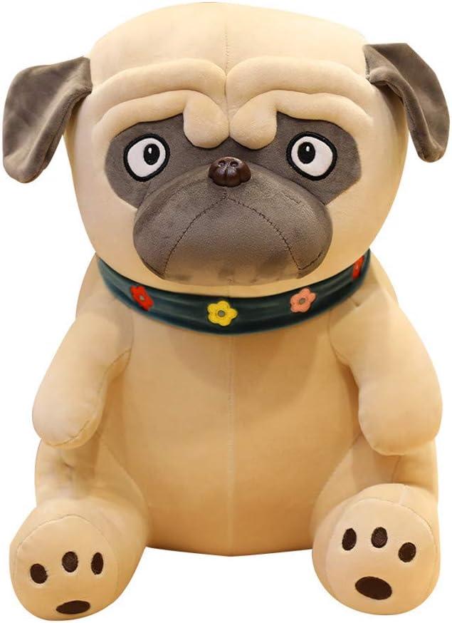 YGbuy Animal Toys, Cute Down Cotton Shar Pei Dog Doll Pillow Toy Plush Toy Filled Toy Filled Toy Animal Soft Doll Pad Almohada Cómoda Bebé Decoración para El Hogar