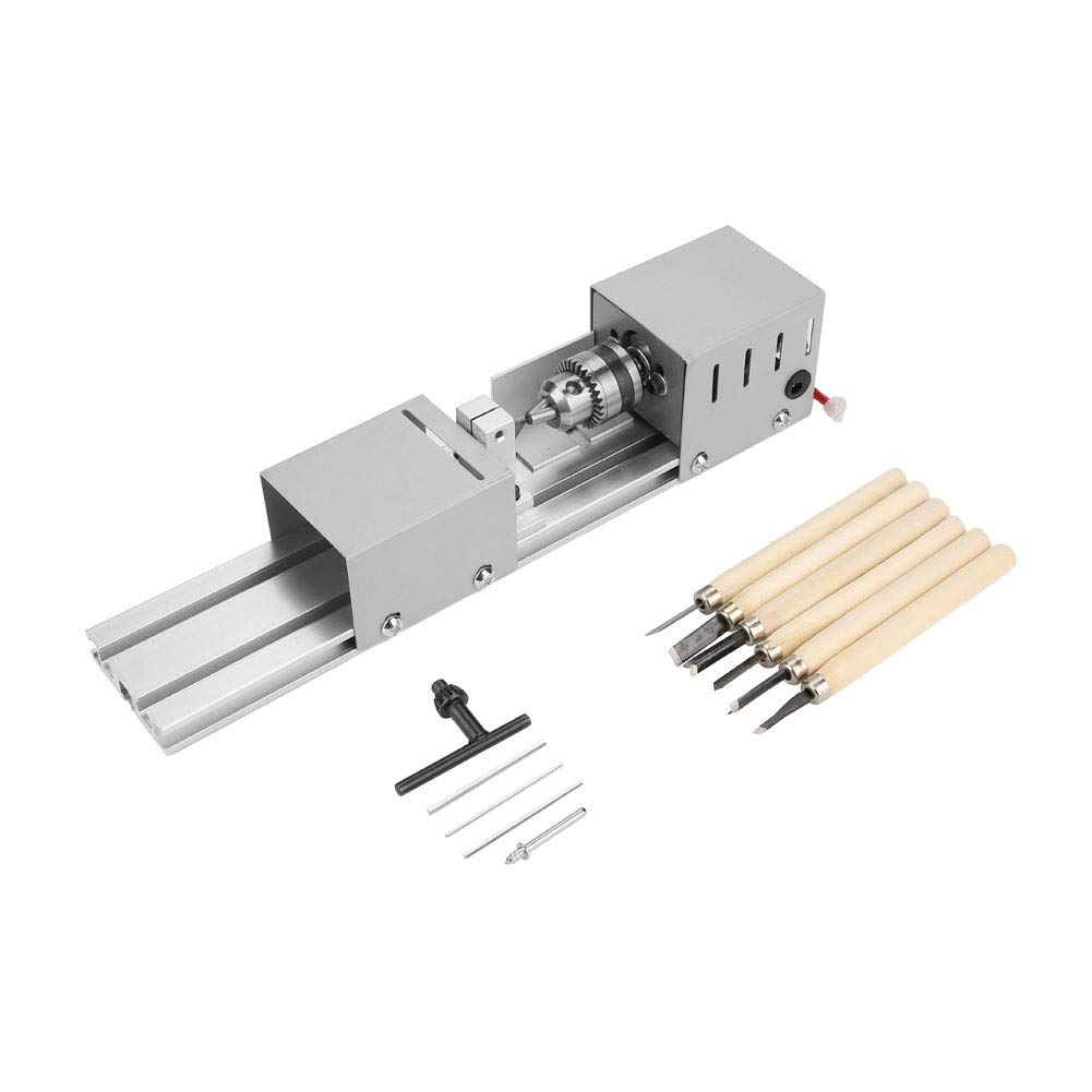 Jadeshay Woodworking Tools - Lathe Beads Polisher Jewelry Beads Polishing Grinding Machine Woodworking DIY Rotary Tool