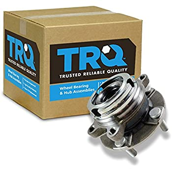 TRQ Front Wheel Hub & Bearing for Nissan Maxima Altima 3.5L V6 w/ABS