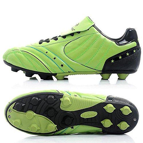 Mr. LQ - Zapatillas de combate de fútbol para adultos y zapatos de entrenamiento green / black