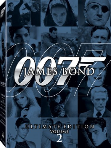 James Bond Ultimate Edition - Vol. 2 (A View to a Kill / Thunderball / Die Another Day / The Spy Who Loved Me / Licence to Kill)