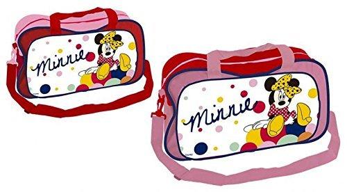 Disney Minnie Mouse–Kinder Sporttasche, Tasche, Sport Minnie Disney, Maße: 44x 26x 18cm. eine Einheit, Farbe Versand zufällig