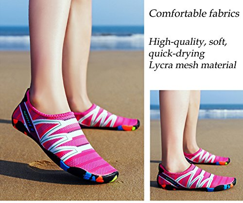 Quick Women for Boating Shoes Outdoor Mens Dry Water Womens XPKWS Shoes Surf Sports Pink Swim Men HqfXtStxw