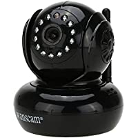 Wanscam Wireless WiFi IP Camera 13 IR LED Night Vision Dual Audio Webcam (Black)