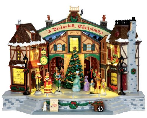 Lemax Village Collection A Christmas Carol Play with Adaptor # 45734 by Lemax by Lemax