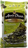 Annie Chun's Roasted Seaweed Snacks Wasabi 0.35 oz (Pack of 24)