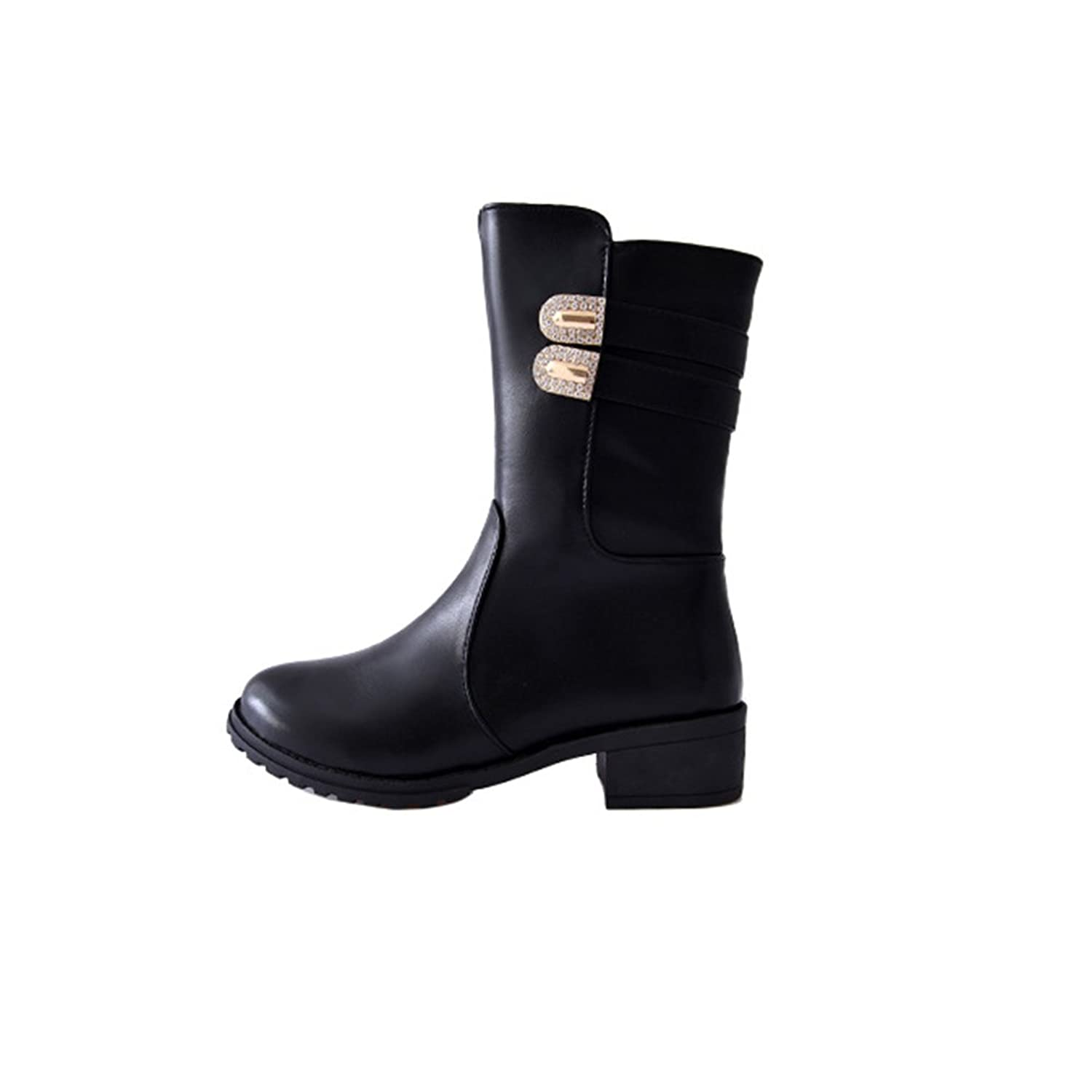 Hotchic Winter Warm Martin Shoes New Design Boots for Women Black Shoes Cool Boots