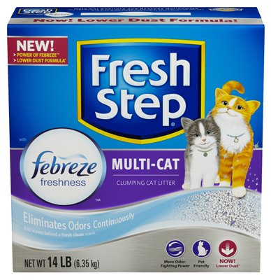 fresh-step-multi-cat-scented-scoopable-cat-litter-14-pounds-packaging-may-vary