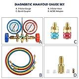 Orion Motor Tech 3FT AC Diagnostic Manifold Freon