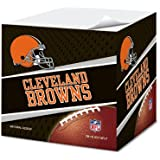 Cleveland Browns 2.75-Inch Sticky Note Cube, 550 pages - NFL (CUS-QRU)