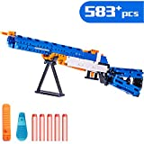iPlay, iLearn Kids Building Gun Kits, M1 Galland Rifle Model Blocks Toy Set, Simulated Soft Bullet Shooting Bricks Playset Gift Collection for Ages 6, 7, 8, 9, 10, 11, 12 Boys Girls Teens Adults