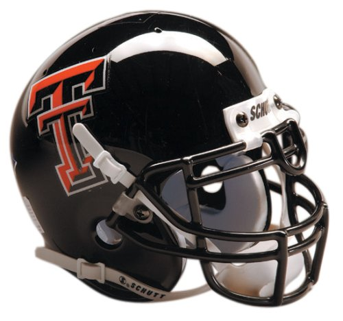 Texas Tech Mini Helmet (NCAA Texas Tech Collectible Mini Football Helmet)