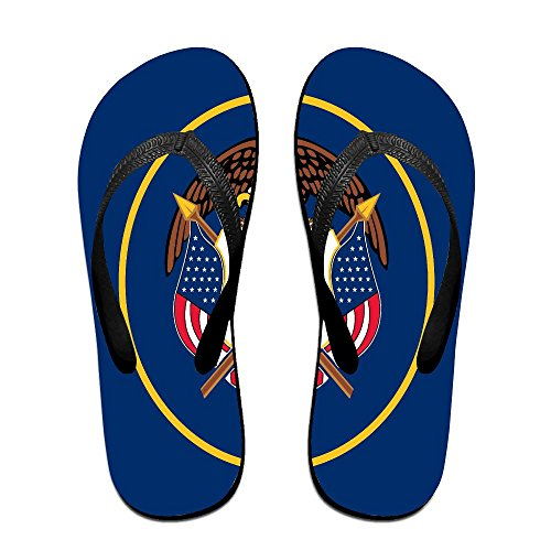 Utah State Flag Cool Flip Flops For Children Adults Men And Women Beach Sandals Pool Party Slippers