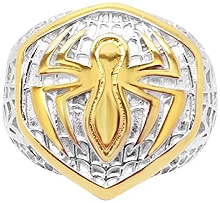 Marvels Mens Spider-Man Ring 12