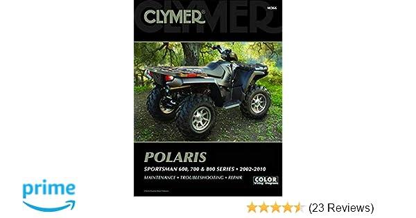 2002-2010 Polaris Sportsman 600 700 800 ATV Clymer Service Workshop Manual M366