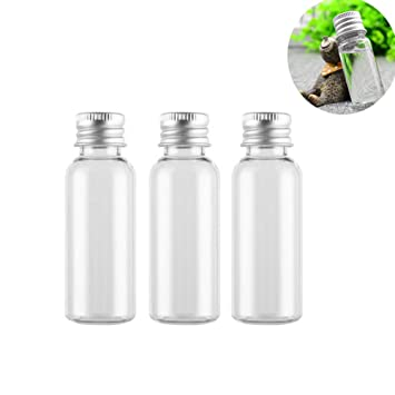 f790f1e6b2fc Amazon.com : 6 PCS 30ML 1OZ Transparent Empty Refillable Plastic ...