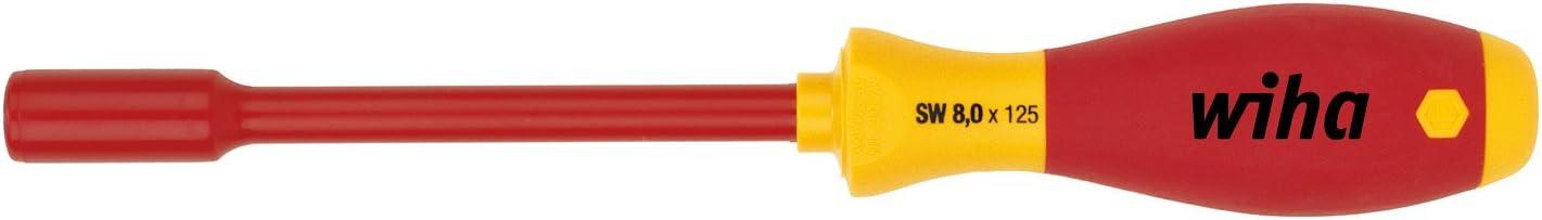Wiha 322 Tournevis /à douille 6 pans SoftFinish/® electric Diff/érentes tailles 17x125x243x41x27,2