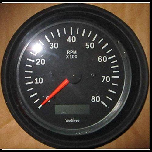 Veethree 80809 Tacho - Hourmeter (B/B)