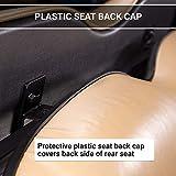 MODZ Flip4 Yamaha G14 - G22 Golf Cart Rear Seat Kit – Ivory