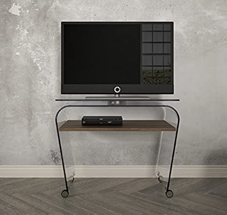 Victa Carrello Porta TV con ruote e piano girevole. Porta TV moderno ...
