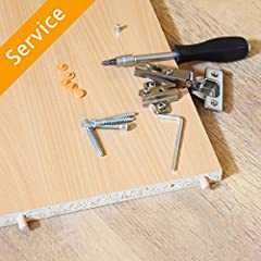 Did your new furniture arrive in a flat box? Hire a local pro through Amazon to assemble your new furniture. Backed by our Happiness Guarantee.