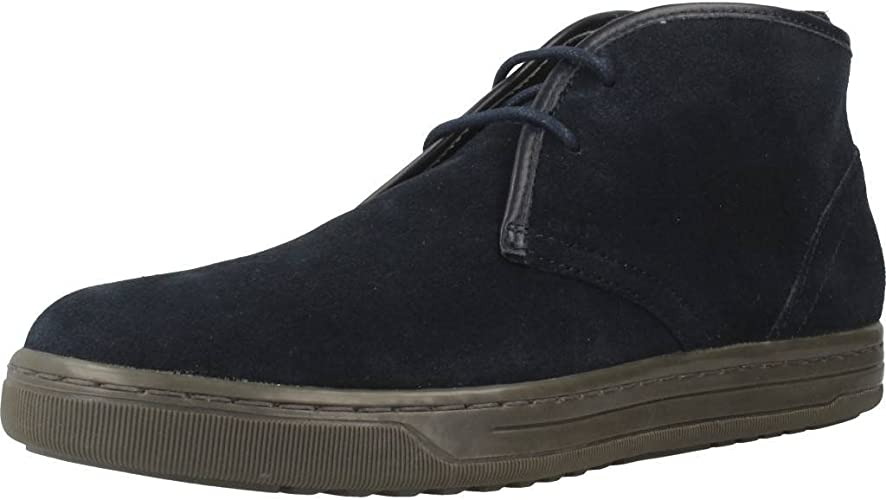 llorar De ninguna manera riqueza  Geox Men's Uomo Ricky C Hi-Top Sneakers: Amazon.co.uk: Shoes & Bags