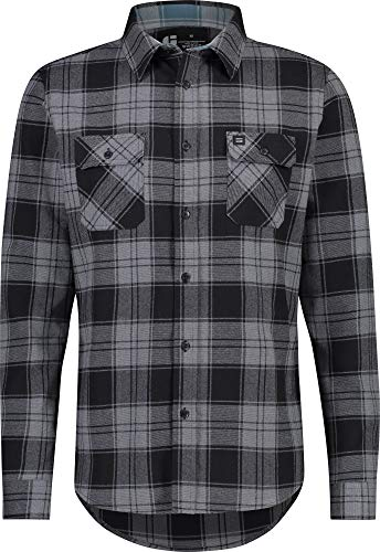 Jolt Gear Flannel Shirt for Men - Dry FIT Long Sleeve Button Down - Moisture Wicking and Stretch Fabric Plaid ()