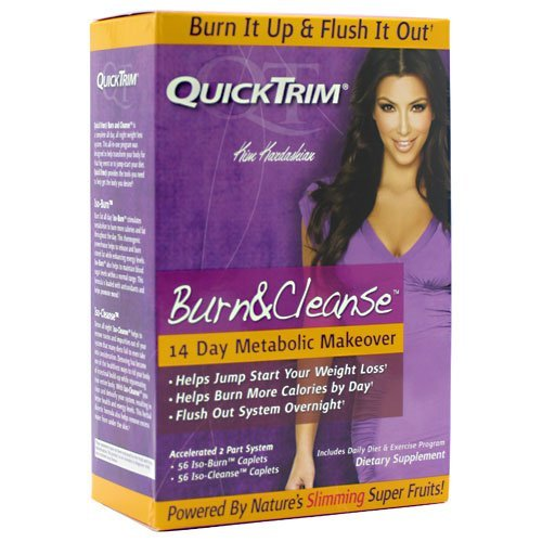 Quick Trim Quicktrim Burn and Cleanse 14 Day Metabolic Makeover Program (2 Each) (Quicktrim Burn And Cleanse 14 Day System)