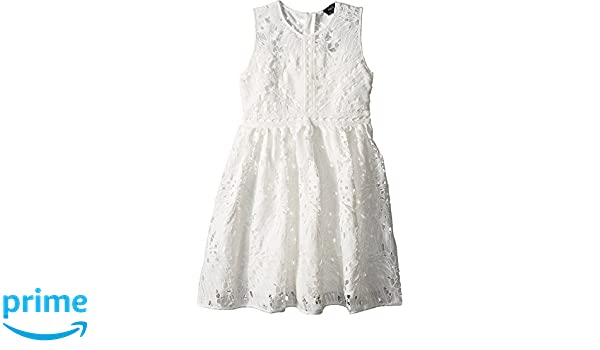Amazon.com  Bardot Junior Girl s Panama Lace Dress (Big Kids) Ivory 16   Clothing e30e1a08f