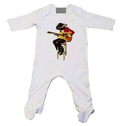 Vmc Jimi Hendrix Illustration Baby Grow Amazon Co Uk Clothing
