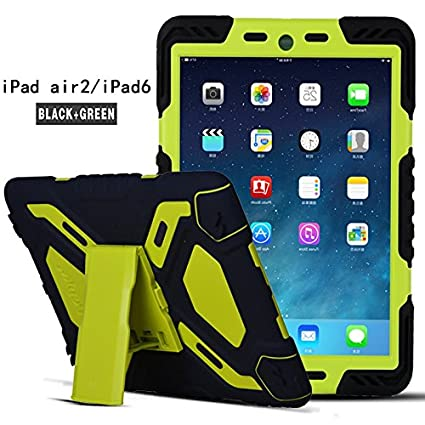cheap for discount a27bf 6128d Amazon.com: Apple Ipad 6/Ipad Air 2 9.7 Inch Case,HuiFlying Military ...