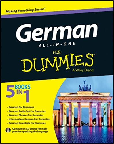 Amazon Com German All In One For Dummies With Cd 9781118491409