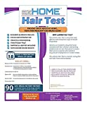 ezHOME Hair Follicle 18 Drug Compound Test